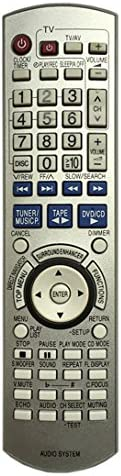 Universal Replacement Remote Control Fit for Panasonic Audio System SAPM02 SAPM04 SCPM02 SCPM04 SCPM04ECS 1pc