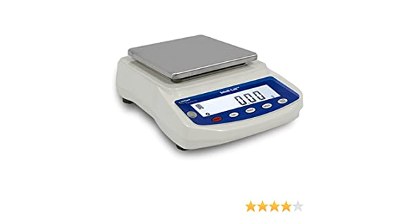 Intelligent PBW-3200 Lab Balance, Jewelry Scale, Rear Display, 3200 g X 0.01 g, Pan Size 6.2