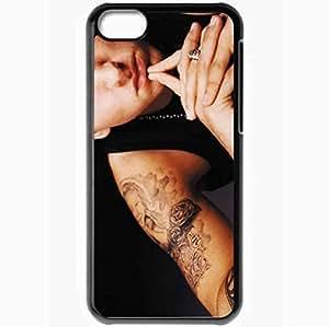 XiFu*MeiPersonalized ipod touch 4 Cell phone Case/Cover Skin Eminem tattoo rapper face Music BlackXiFu*Mei