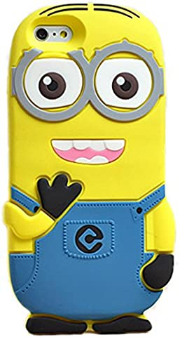 Iphone 4 4s Case, Cute 3D Cartoon Lovely Despicable Me