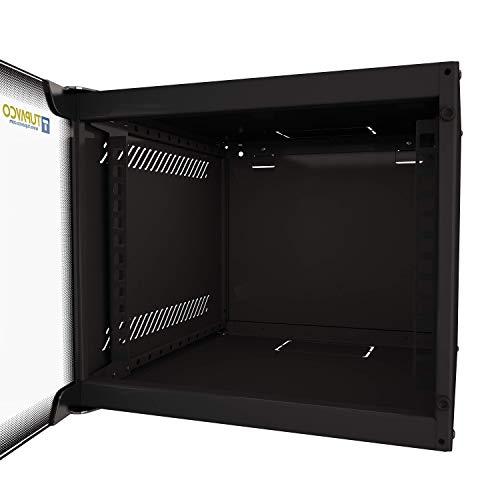 Portable 4U -Tupavco Floor/Wall Inch -IT CCTV Server Enclosure -Glass Door Lock