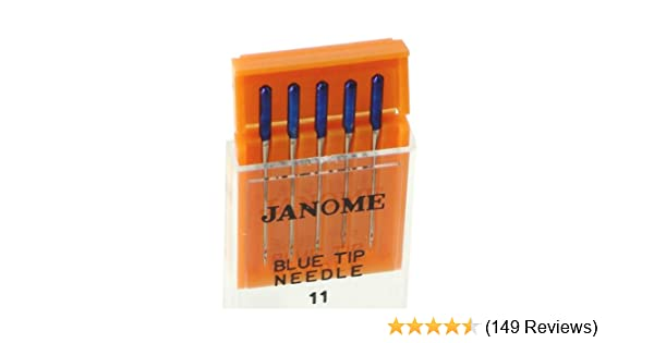 Amazon Janome Blue Tip Needles For All Models Classy Janome 2160dc Sewing Machine Review