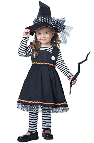 Crafty Little Witch Girls Halloween Toddler (Crafty Halloween Costumes For Adults)