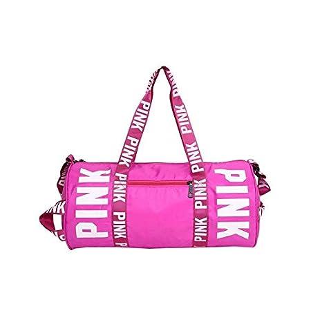 Travel Bag Men Women Travel Bag Shoulder Bag Portable Large Capacity Waterproof Pink Women Handbag Duffel Bag Vs Bag Weekend Package
