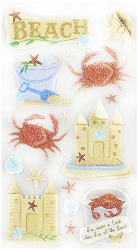 Sticko EK Success Beach and Crabs Stickers