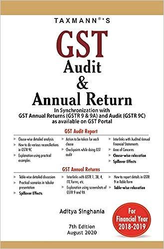 Taxmann's GST Audit & Annual Return