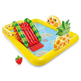 Intex Fun 'n Fruity Inflatable Play Center, for Ages 2+, Multicolor
