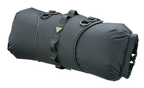 (Topeak Front Loader Handlebar Mount 8 Liter Black Bike Packing Bag)
