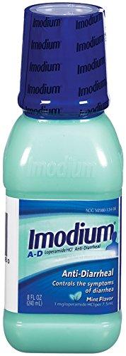 Liquid Imodium AD anti-diarrhéiques, Arôme de Menthe 8 onces Bouteille
