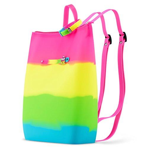 Pink Lemonade Scented Yellow Tie Dye Yummy Gummy Backpack -by Define (Flavor Dye)