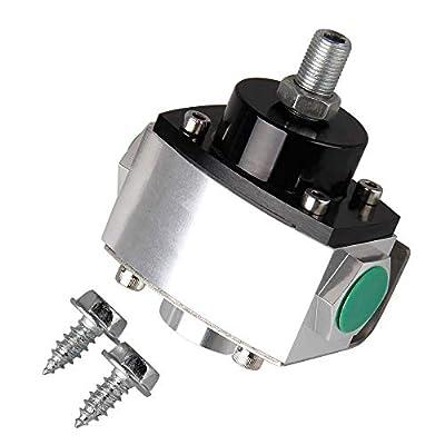 BANG4BUCK Universal Electric Fuel Pump Fuel Pressure Regulator 4.5-9 PSI Return Style: Automotive