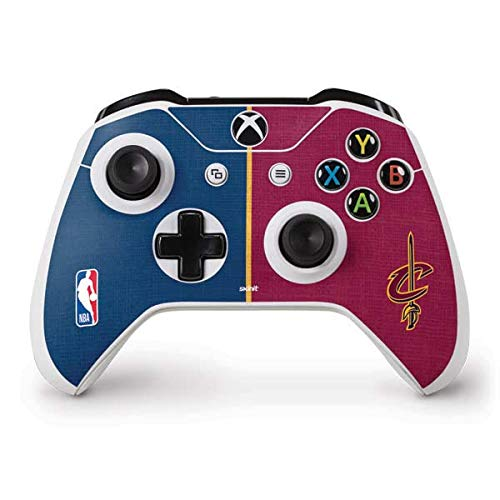 Skinit Cleveland Cavaliers Canvas Xbox One S Controller Skin - Officially Licensed NBA Gaming Decal - Ultra Thin, Lightweight Vinyl Decal -