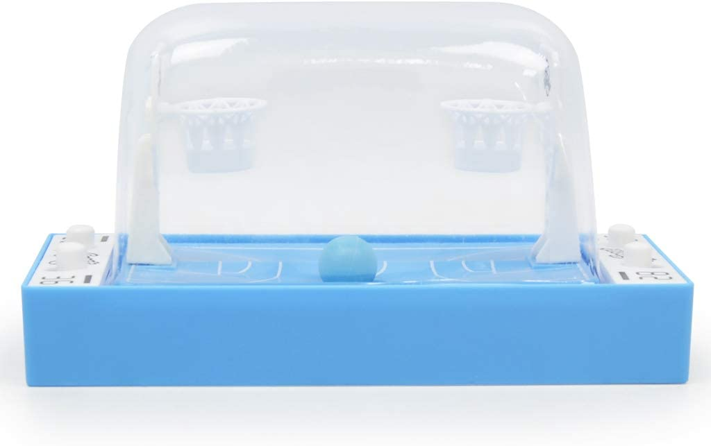Non brand Sharplace Mini Hoop Shot Basketball-Gioco Portatile Sparatoria,Finger Trigger Pallacanestro Automatico