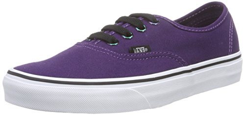 Sneakers Iridescnt Unisex Eyelets Authentic U Vans White Iridescent Blackberry True Viola tAqRff