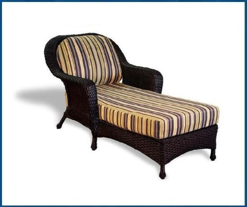 Tortuga Outdoor Garden Patio Lexington Chaise Lounge - Tortoise price