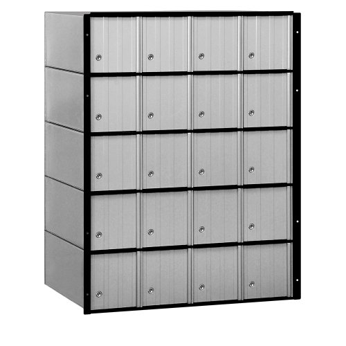 Salsbury Industries 2220 Standard System Aluminum Mailbox with 20 ()