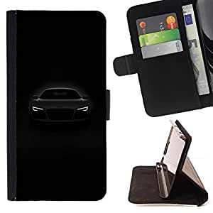 Jordan Colourful Shop - car front lights powerful black white For Apple Iphone 6 - Leather Case Absorci???¡¯???€????€????????&