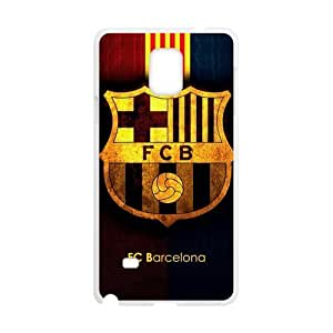SUNNYGOOD Favorite Soccer Team FC Barcelona Custom Case for SamSung Galaxy Note4 (Laser Technology)