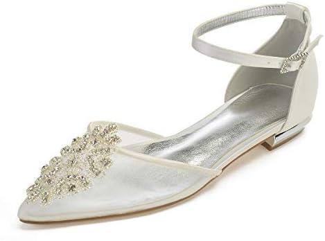 Lianyunneiyi Womens Shoes Satin Mesh Spring Summer Comfort Wedding
