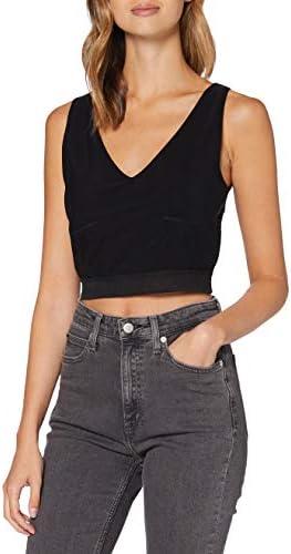 Calvin Klein Jeans damska koszula z siateczką, z logo: Odzież