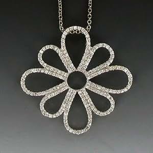 Amazon.com: Ramona Singer Sterling Silver Pierced Flower
