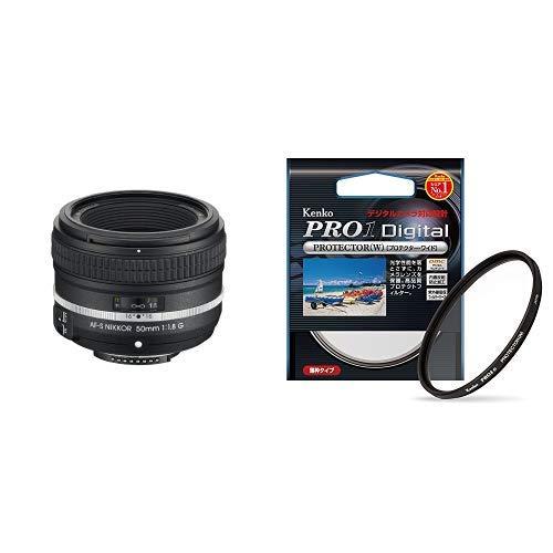 Nikon 単焦点レンズ AF-S NIKKOR 50mm f/1.8G(Special Edition) フルサイズ対応 & Kenko カメラ用フィルター PRO1D プロテクター (W) 58mm レンズ保護用 252581   B07NN68M9H