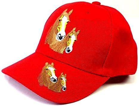 Evil Wear - Gorra de béisbol para niño, diseño de Caballos, Color ...