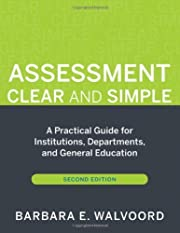 Assessment Clear and Simple A Practical…