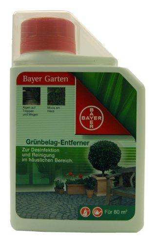 Bayer 02940594 Garten Grünbelag-Entferner für 80m², 0,5 Liter