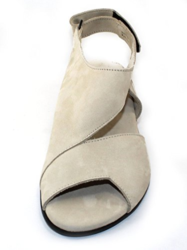 Arche Vrouwenobibbi In Perle Nubuck - Off White - Maat 39 M