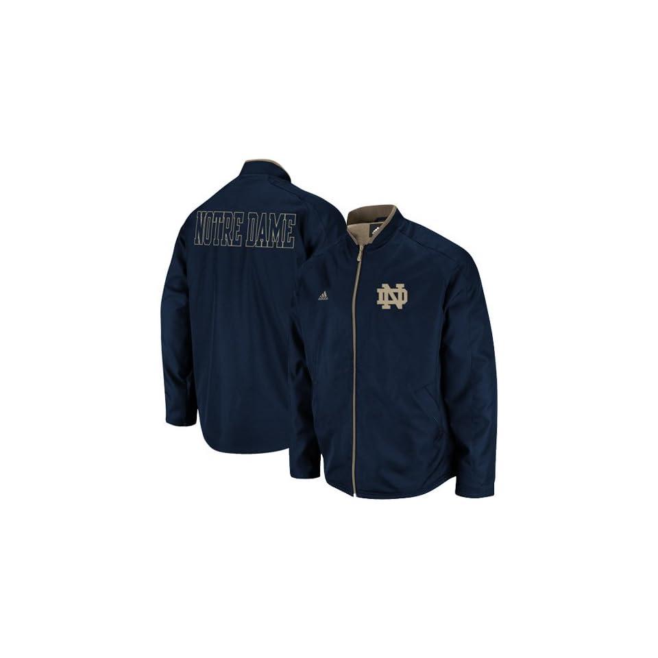 Notre Dame Fighting Irish Jackets  Adidas Notre Dame Fighting Irish