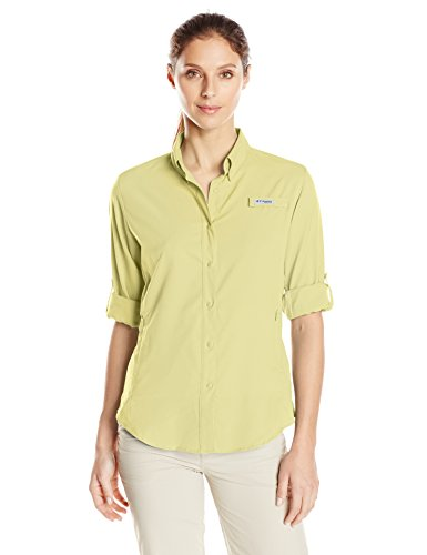 Columbia Women's Tamiami II Long Sleeve Shirt, Endive, Medium