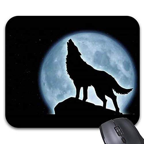 Halloween Music Night of The were Wolf Mouse Pads 11.8 x 9.8