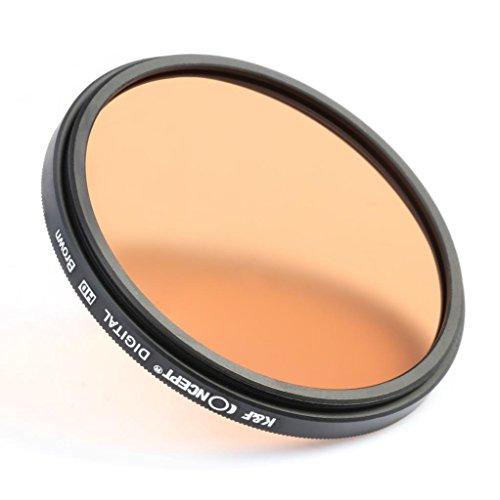 k amp f concept 52mm 9pcs round full color lens filter set