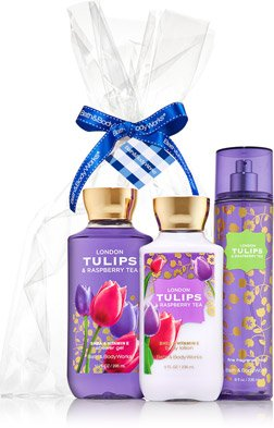 Price comparison product image Bath and Body Works - London Tulips,raspberry Tea Set