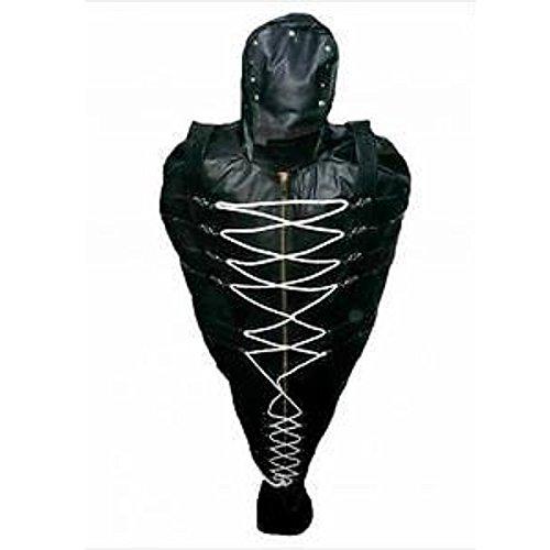 Heavy Duty Leather Bondage Sleep Sack with Leather Lining Bondage Sleep Bag (XXX-Large)