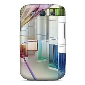 Galaxy Cover Case - Designs 8 Protective Case Compatibel With Galaxy S3