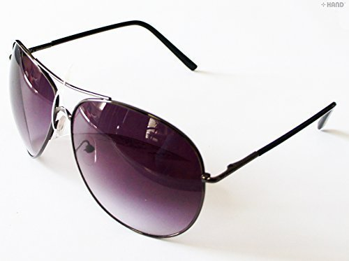 661 Fashionable Aviator Pilot Tinted Sunglasses UV400 - Buy 1 Get 1 - Sunglasses One Get One Free Buy