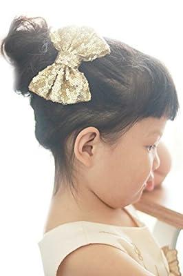 Missgrace Hair clip for baby, Baby Flower Hair clip, Pink Hair clip, Boutique Hair bow