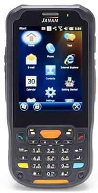 Janam XM5-1NHLRDGV00 Series XM5 Handheld Computing Devices, WEH 6.5, 2D Imager, UMTS/HSPDA/HSUPA/GSM, 802.11ABGN, GPS, RFID, Bluetooth, Camera, 4000 mAh, Numeric Keypad by JANAM