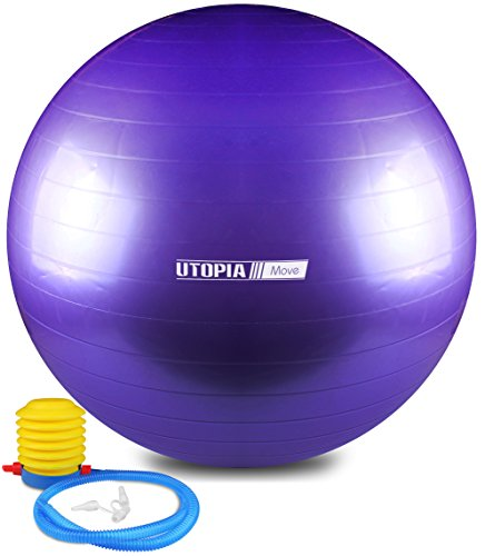 Anti Burst and Slip Resistant Yoga Ball - Exe...