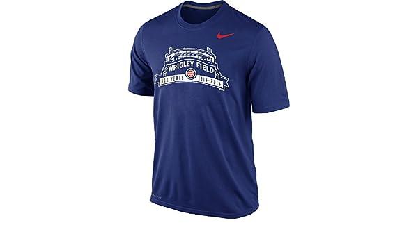 54631070471 Amazon.com  Nike Chicago Cubs Men s Wrigley Field 100 Years Legend Dri-FIT T -Shirt (Varsity Royal Blue
