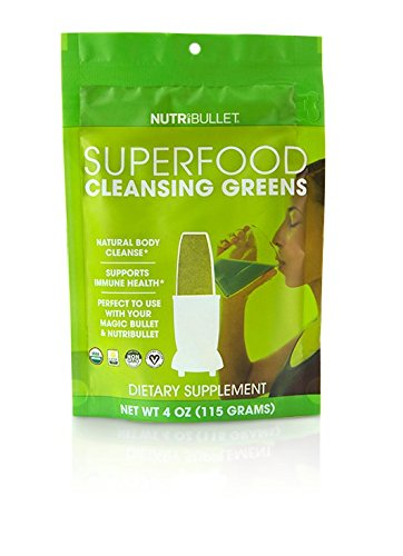NutriBullet Superfood Cleansing Greens by Magic Bullet