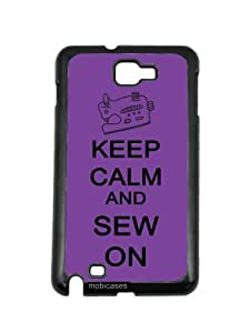 Keep Calm And Sew On Red Wood Blackberry Z10 Case - For Blackberry Z10