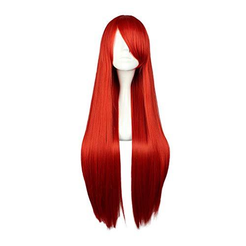 "LUNIWEI 18 Colors Wigs for Women 80CM / 32"" Charming Long Straight Wigs Women's Heat Resistant ()"