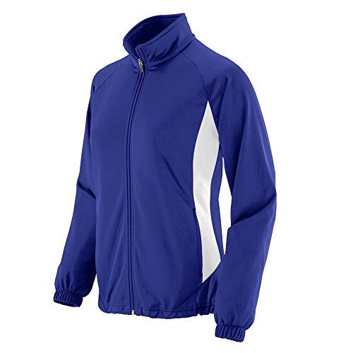 Augusta Sportswear Women's Medalist Jacket M Purple/White