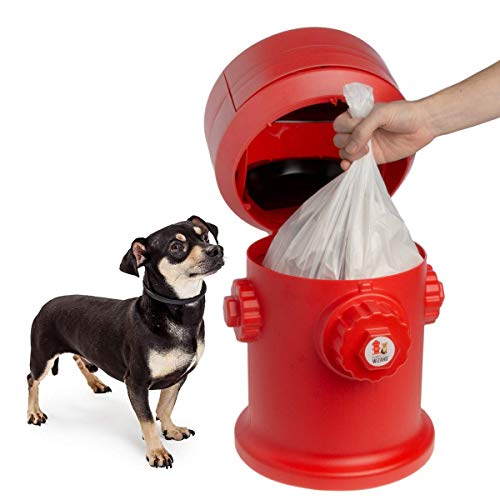 Puppy Pad Wizard Puppy Litter/Training Trash Can, Red for sale  Delivered anywhere in USA
