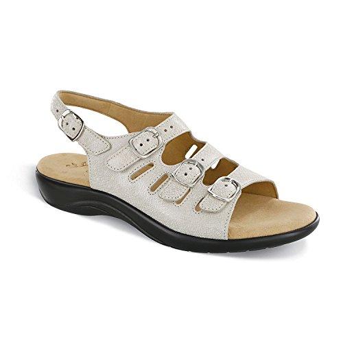 SAS Womens Mystic Open Toe Casual Slingback Sandals, Web Linen, Size (Linen Slingback)