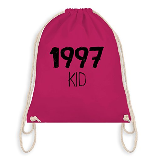 Shirtracer Geburtstag - 1997 KID - Turnbeutel I Gym Bag Fuchsia 7Tbnch