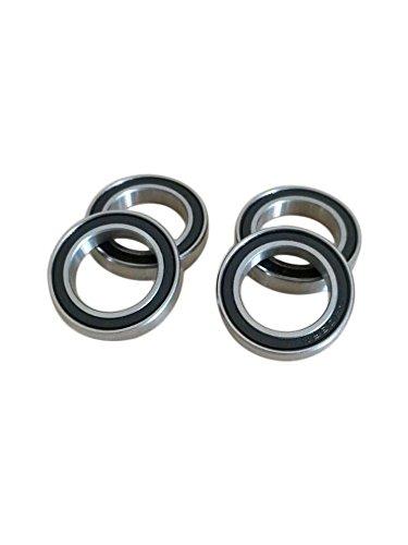 (10pcs 6702-2RS Rubber Sealed Ball Bearings 15 x 21 x 4 mm)